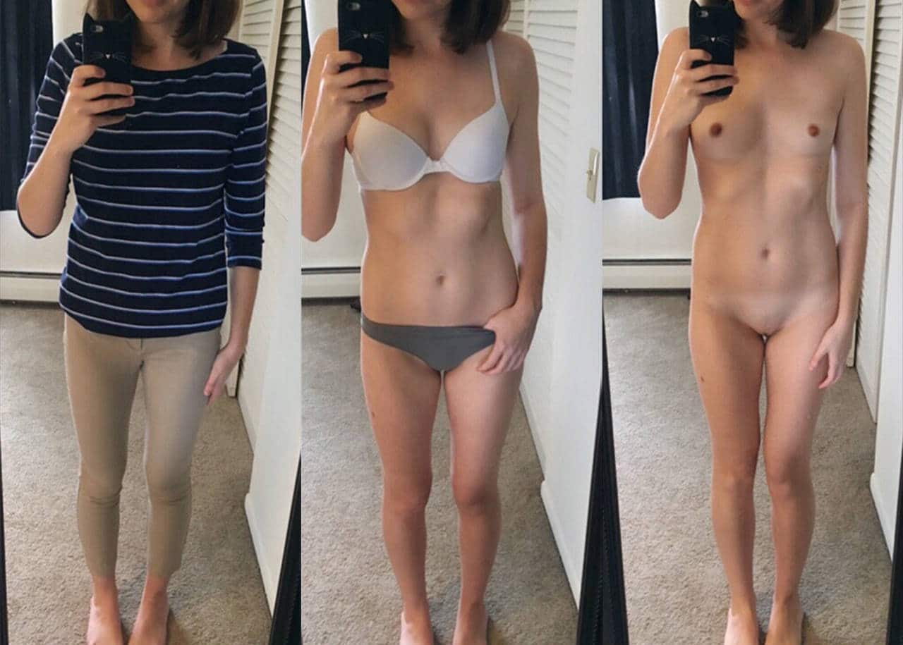 chaude-jeunne-brunette-nue-selfie-snap